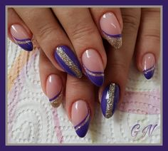 Regardez ce que j'ai fait en utilisant - New Ideas Simple Nail Art Designs, Colorful Nail Designs, Beautiful Nail Designs, Beautiful Nail Art, Picsart, Fancy Nails, Bling Nails, New Nail Trends, Nagel Bling