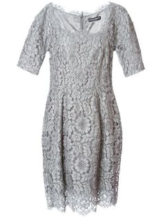 Shop Dolce & Gabbana floral lace dress in Eraldo from the world's best independent boutiques at farfetch.com. Over 1000 designers from 60 boutiques in one website.