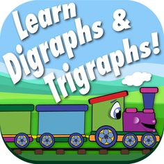 Digraph Trigraph Sort is a timed game that was designed to improve how quickly your child can recognize and sort images by the digraph or trigraph they begin with. It does this by showing your child an image and ask them to pick the train car with the matching digraph or trigraph. Each higher level gives them less time to fill the train. Don't worry, they can begin in practice mode without the timer, then, when they are ready, they can select play. Available for Android and IOS.