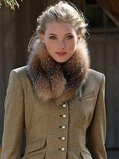 lara fox scarf - scarves - accessories - Gorsuch