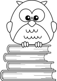 cute owl printable coloring pages are coloring sheets with owl figure. These owl sheets can be used not only as wall decor but also a school project as well. Coloring Pages For Girls, Coloring Pages To Print, Coloring For Kids, Colouring Pages, Printable Coloring Pages, Coloring Sheets, Coloring Books, Owl Books, Owl Cartoon