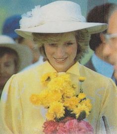 April 12, 1983: Princess Diana in Queensland, Australia.