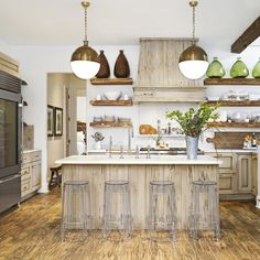 Surprising Tips: Inexpensive Kitchen Remodel Benjamin Moore white kitchen remodel home tours.Mid Century Kitchen Remodel Inspiration white kitchen remodel home tours.White Kitchen Remodel Home Tours. Farmhouse Style Kitchen, Home Decor Kitchen, Country Kitchen, Kitchen Interior, New Kitchen, Kitchen Ideas, Modern Farmhouse, Farmhouse Design, Farmhouse Decor
