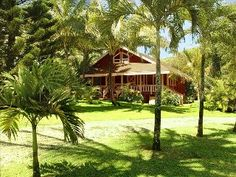 Your Dream Vacation Awaits You at Beautiful and Romantic Makale'a PalmsVacation Rental in Kilauea from @homeaway! #vacation #rental #travel #homeaway
