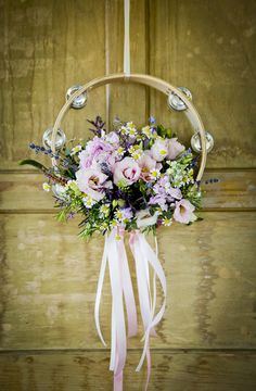 Musical theme - tambourine flowers! They were amazing thanks Sonning flowers!