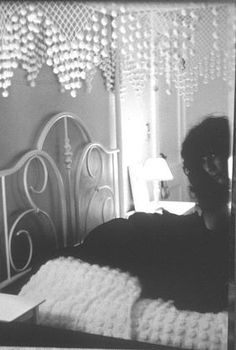 Debranne Cingari, Bed II (Mourning series), 2002, Ed. 1/10, silver gelatin photograph, 20 X 16 inches