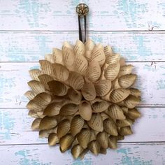 gold flower wreath paper dahlia wreath antique book wreath