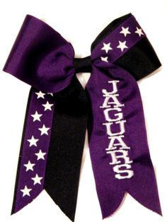 All Star Monogram Cheer Bow