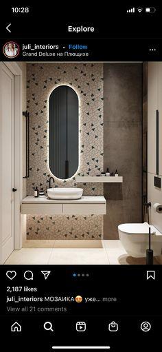 Bathroom Lighting, Mirror, Bathroom Ideas, Furniture, Home Decor, Bathroom Light Fittings, Bathroom Vanity Lighting, Decoration Home, Room Decor