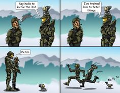 Master Chief's Pet 3 by *warrioronlydude on deviantART