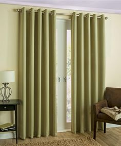 Enhance your home with the modern Byron Green Curtains, featuring a printed herringbone pattern and high quality thermal blockout lining, these curtains are perfect for all rooms, a selection of subtle colours are available and they come with contemporary eyelet heading.