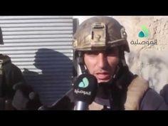 Guerra contra o ISIS - Exército iraquiano na batalha de Mosul - 20.11.2016