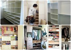 Day 19: Closet Organization (The number one thing you can do to maximize storage space, is to add custom shelving.) #SpringDream