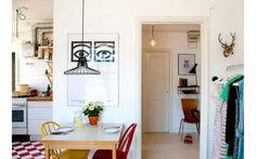 Charlotta Dyke's home. Photo Frida Ekman for Härligt hemma