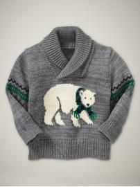 I think this is a little boy's sweater but I like it for a Christmas party.  :)