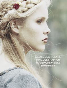 """The Vampire Diaries, The Originals Rebekah """"We all bear scars, mine just happen to be more visible than most"""" Celaena Sardothien, The Orignals, Vampire Diaries Quotes, Vampire Diaries The Originals, Vampire Diaries Rebekah, Stefan Salvatore, Paul Wesley, Tvd Quotes, The Mikaelsons"""
