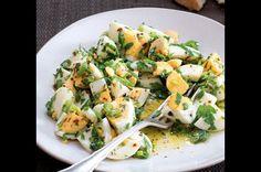 Yumurta piyazi (turecký vajíčkový salát)