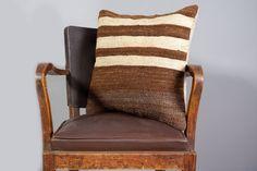 Turkish kilim pillow Decorative pillow Vintage home by Zencef