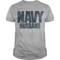 Navy Husband T-Shirts, Hoodies. BUY IT NOW ==► https://www.sunfrog.com/Jobs/Navy-Husband-65657323-Guys.html?id=41382