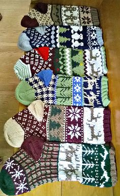 Rustic Christmas stockings! Addicted!