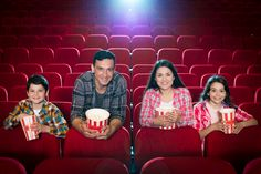 Family watching movie in cinema Photo Free Stock Photos, Free Photos, Vector Photo, Family Photos, Christmas Sweaters, Photo Editing, Cinema, Poses, Fashion