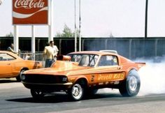 Mustang Gasser - George Class Remembers . . . Picture - A/FX and Gassers morphed into Funny Car