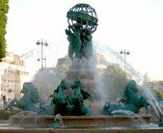 Fontaine de l'Observatoire, Paris VI
