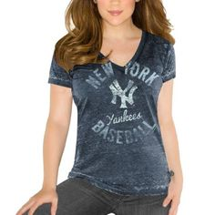 Touch by #AlyssaMilanoNewYorkYankees Ladies Number 1 Fan T-Shirt $32.95 http://www.newyorkcityvacationusa.com/New-York-Yankees/new-york-yankees-t-shirts.php