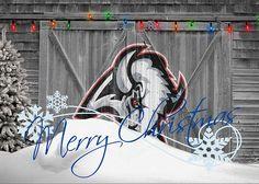 0560002c7 Sabres Greeting Card featuring the photograph Buffalo Sabres by Joe  Hamilton Joe Hamilton