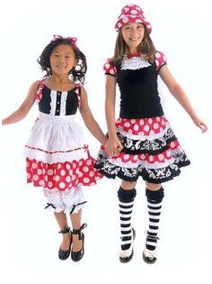 Servane Barrau Magic Town Tuxedo Town Skirt