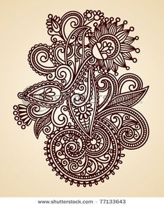 indian art: nature motif