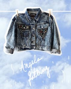 The coolest denim jacket on earth Online Shopping Clothes, Kids Wear, Cool Kids, Earth, Cool Stuff, Denim, How To Wear, Jackets, Fashion
