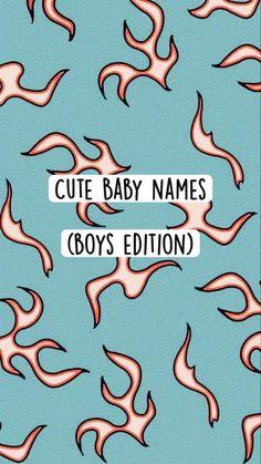 Cute Baby Boy Names, Cute Names, Pretty Names, Dance Humor, Character Names, Baby Hacks, Writing Inspiration, Life Skills, Kids And Parenting