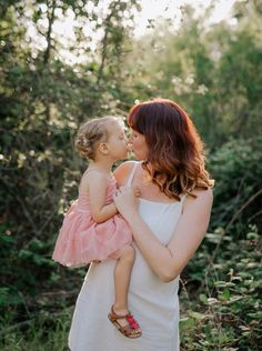 Mother-Daughter Maternity Photo Shoot by the American River | Love Light Jules Photography