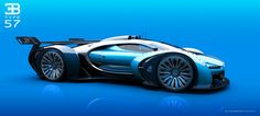 Artist Tries To Improve Upon Bugatti's Vision GT Concept