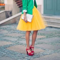 Another way to incorporate a tutu into your everyday fashion!