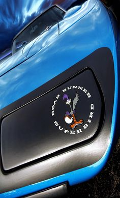 1970 Plymouth Road Runner Superbird in B5 Blue - by Gordon Dean II