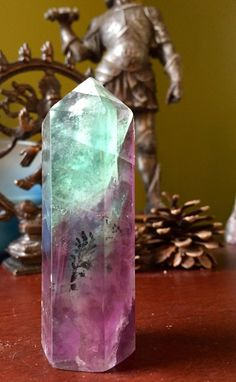 A personal favorite from my Etsy shop https://www.etsy.com/listing/275799656/sale-gorgeous-rainbow-fluorite-tower