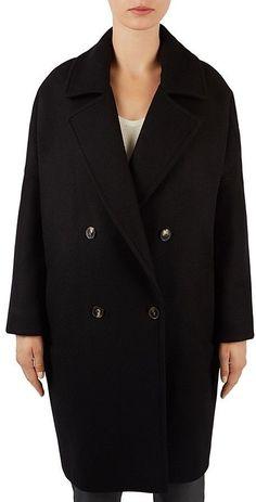 Gerard Darel Gandy Double-Breasted Coat