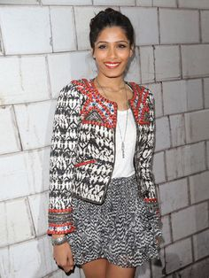 Lovely! Frida Pinto in Isabel Marant pour H&M