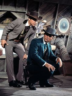 James West & Artemus Gordon (Robert Conrad & Ross Martin) The Wild Wild West (1965-1969)
