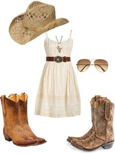 New Dress Casual Country Girl Outfits Ideas New Dress Casual Country Girl Outfits IdeasYou can find Country girl fashion and more on our website.New Dress Casu. Country Girl Outfits, Country Fashion, Western Outfits, Country Girls, Country Girl Style, Cowgirl Outfits For Women Dresses, Country Summer Dresses, Cowgirl Style Outfits, Western Girl