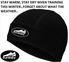 keep training this winter - forget about the weather with a Run Baby Skull Beanie Cap - http://www.amazon.com/dp/B0182MJT4U