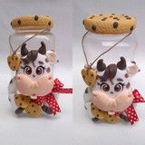 Cow Ornaments, Christmas Ornaments, Biscuits, Tiny Food, Pasta Flexible, Decor Crafts, Home Decor, Holiday Decor, Cookies