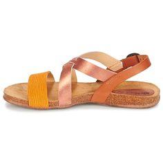 Shoes Női Szandálok / Saruk Kickers ANADAY Teve / Többszínű / Narancssárga