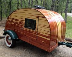 Homemade Teardrop Camper | My version of a Teardrop Trailer - by BenchDawg @ LumberJocks.com ...