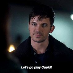 Meanwhile, 2 episodes ago, they were the anti Cupid! #wucy #renewtimeless