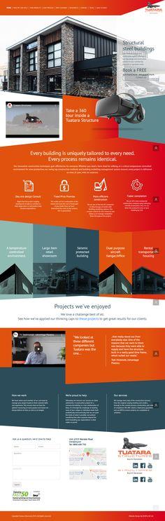 Custom Web Design, Custom Website Design, Website Design Company, Portfolio Website, Auckland, Digital Marketing, Construction, Building, Web Design Company