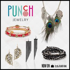 Say hello to Punch--the fun new jewelry brand on Little Black Bag!