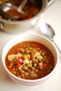 Klasyczna zupa z soczewicy – Vegelicious